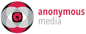 anonymous media Logo